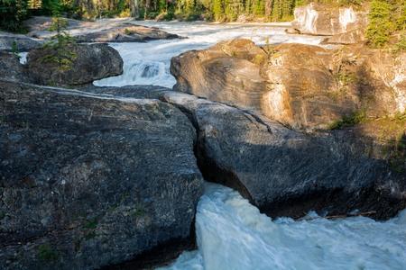 Natural Bridge in Yoho National Park, BC, Canada Stock Photo