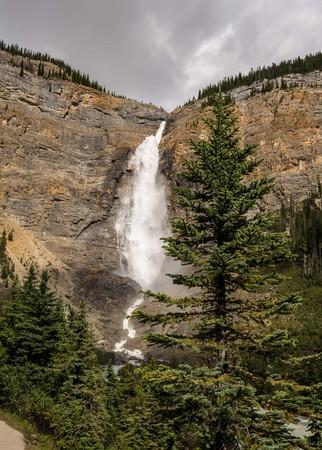 Takakkaw Falls waterfall in Yoho National Park.