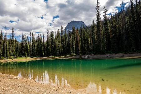 Rocky Mountains. Yoho national park, Hidden lakes.
