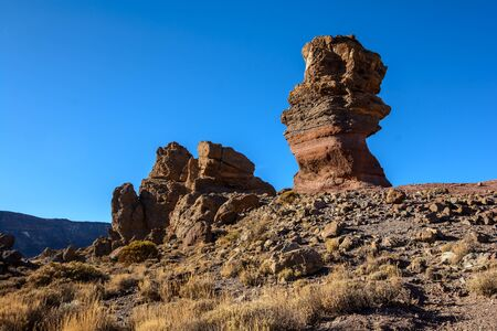 The famous Finger Of God rock. Tenerife