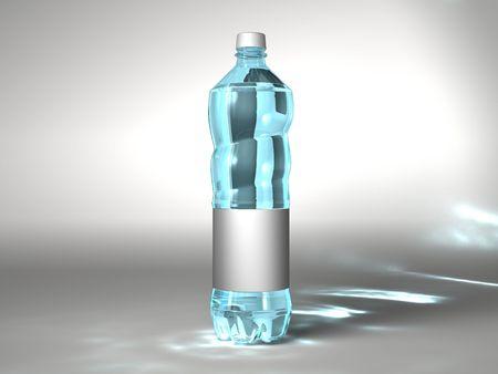 Neutral water bottle photo