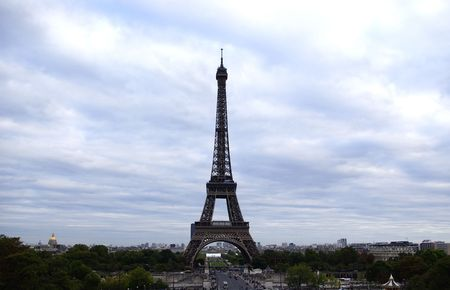 Eiffel tower view from the Trocadero Stock Photo - 6281075