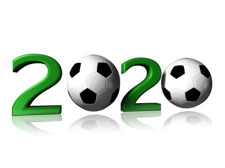 2020 soccer logo Stock Photo - 7062043
