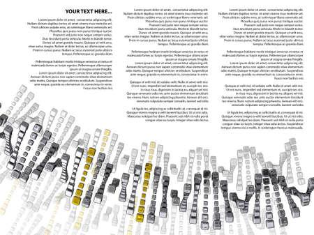adn: ADN cubos de plata y oro con el texto de la muestra sobre un fondo blanco