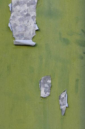 Green and old painted metallic surface Stock Photo - 16708392