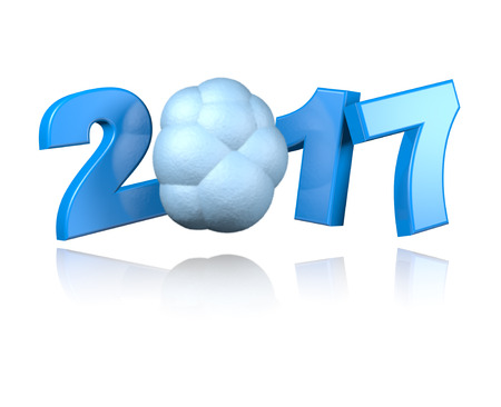 available: Cloud 2017 design with a White Background