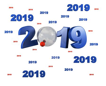 Muchos diseños de bolas de petanca 2019 con un fondo blanco