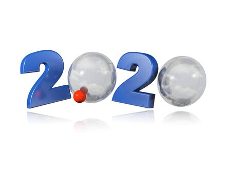 Petanque 2020 Design with a White Background