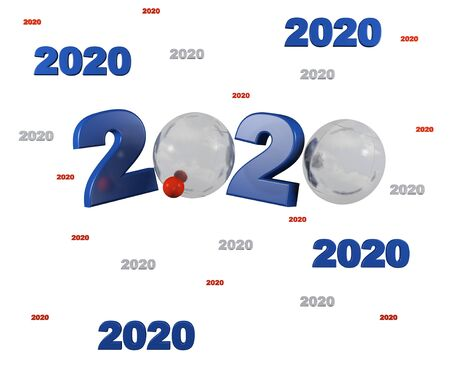 Many Petanque 2020 Designs with a White Background
