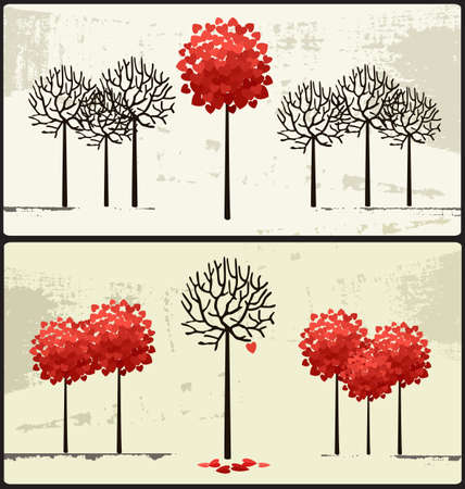 represents: Vector art-illustration that represents the concepts for Valentines day.