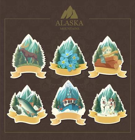 sledge:  Arte-ilustraci�n que representa la belleza de Alaska.