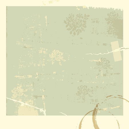 Vector illustration of vintage background.