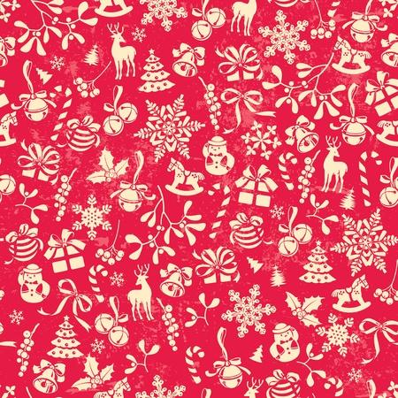 gui: Christmas background, carrelage sans faille, un excellent choix pour le motif du papier d'emballage