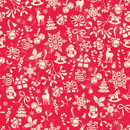 christmas x mas: Christmas background, seamless tiling, great choice for wrapping paper pattern