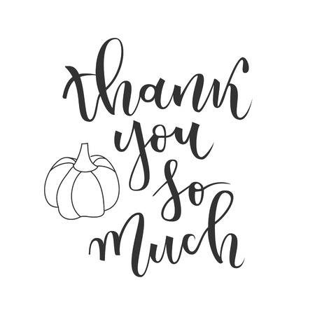 120 Thank You So Much Stock Vector Illustration And Royalty Free