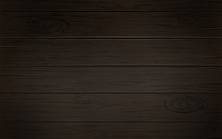 Wooden Dark Brown Background With Wood Texture Planks