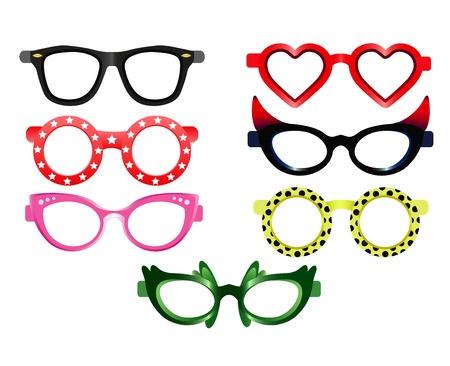 Party Sunglasses Vecteurs