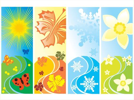 new seasons Stock Vector - 2286848