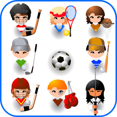 collection of sports vector  Vector