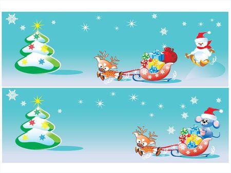 toy sack: Feliz Navidad. rat�n. mu�eco de nieve