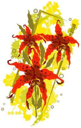 floral vector abstract Stock Vector - 3726952