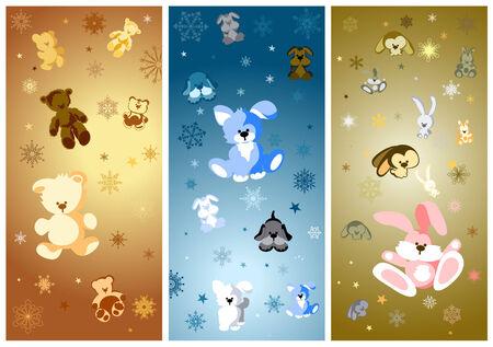 osos navide�os: Vector de Navidad para beb�s de dise�o para usted