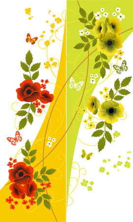 floral backgrounds Stock Vector - 4302704