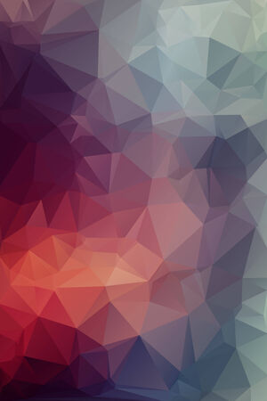 polygonal: Varios Abstract polygonal background. Illustration