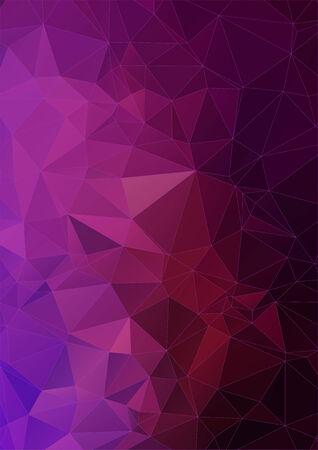 vibrant: vibrant violet polygonal background