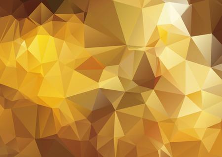 diamond shape: Dark yellow abstract polygonal background