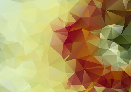 bstract: light green bstract polygonal background