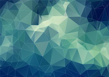 多角形の背景。三角形幾何学図形を構成します。ベクトル