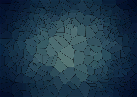 abstract  retro background with ceramic  geometric shapes Illustration