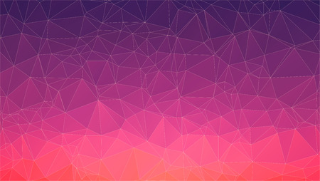 triangle polygon pattern background and gradient violet color