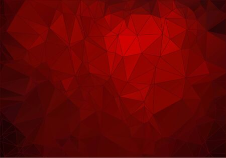 crimson: Abstract  crimson polygonal background for your web design