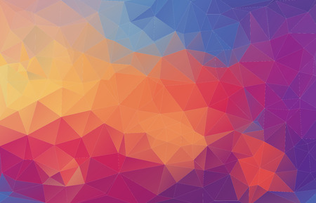 Abstract polygonal background for your web design