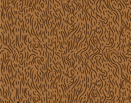 construction paper art: Pattern in zigzag with brown line. Like a wood Illustration