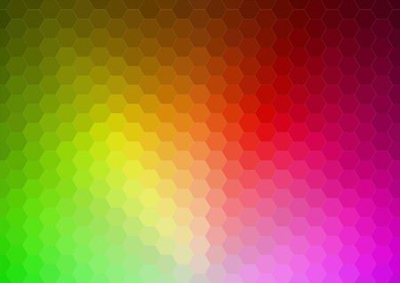 multicolored background: Abstract 2D mosaic triangle background for web Illustration