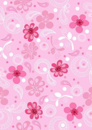 elegance: Abstract Elegance vector background with flower for your design Illustration