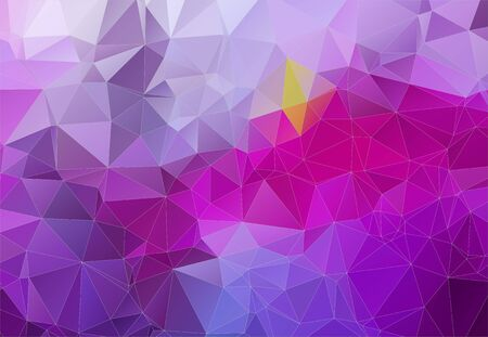 angular: Violet abstract background consisting of angular shapes for web design