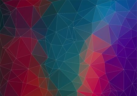 web design background: Abstract polygonal background for you web design