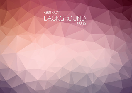 backgound: Abstract triangle shapes. Art Vector backgound for your design Illustration
