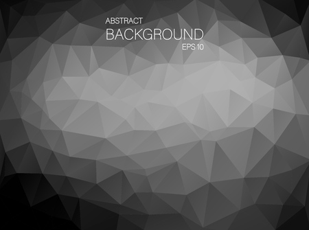 backgound: Abstract Black and white triangle shapes. Art Vector backgound for your design