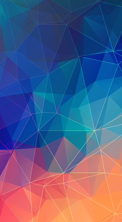 Vertical polygonal Background for your smartphone.
