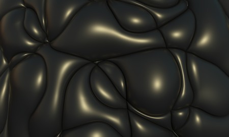 3d Blobs abstract wavy background