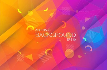Futuristic background abstract for cover design. Geometric abstract