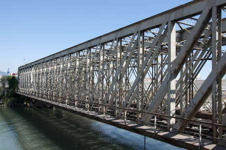 abandoning: old railway bridge.