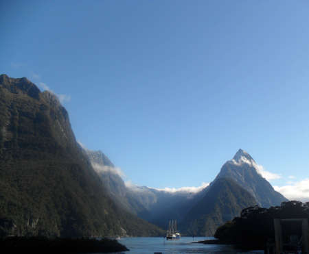 sounds: Milford Sounds, New Zealand