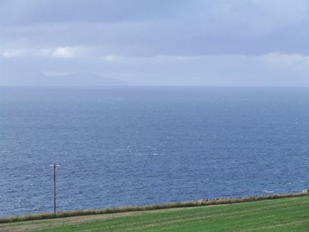 Sea View In Ayrshire Scotland photo