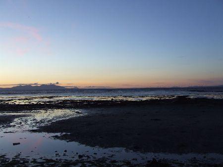 Sea View off a Beach in Ayrshire photo